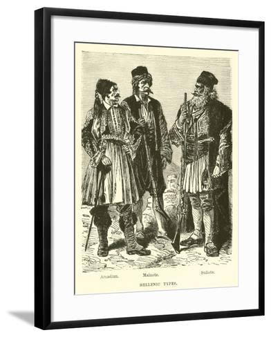 Hellenic Types--Framed Art Print