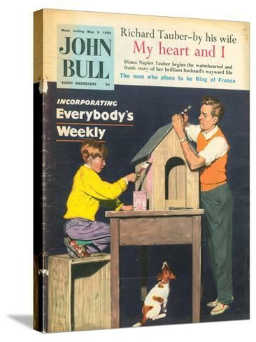 Front Cover of 'John Bull', May 1959--Stretched Canvas Print