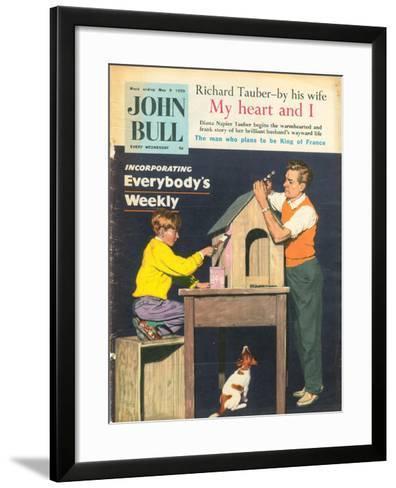 Front Cover of 'John Bull', May 1959--Framed Art Print