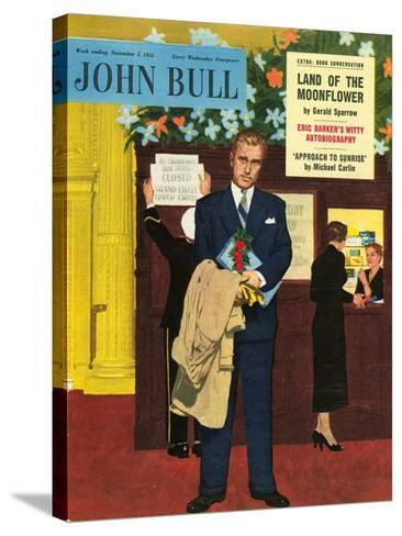Front Cover of 'John Bull', November 1955--Stretched Canvas Print