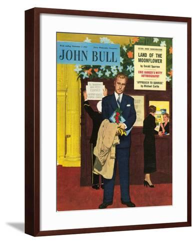 Front Cover of 'John Bull', November 1955--Framed Art Print