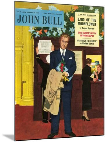 Front Cover of 'John Bull', November 1955--Mounted Giclee Print