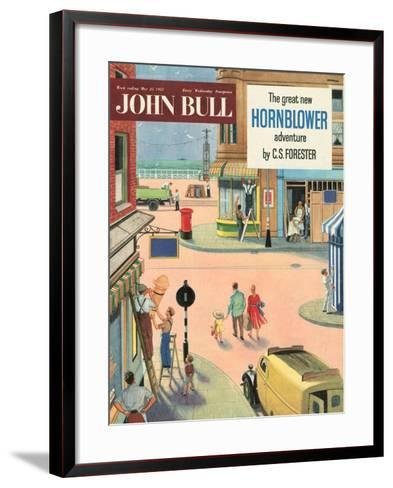 Front Cover of 'John Bull', May 1957--Framed Art Print
