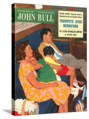 Front Cover of 'John Bull', August 1955--Stretched Canvas Print