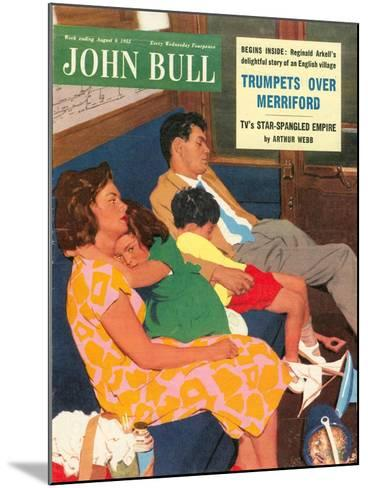 Front Cover of 'John Bull', August 1955--Mounted Giclee Print