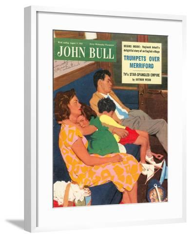 Front Cover of 'John Bull', August 1955--Framed Art Print