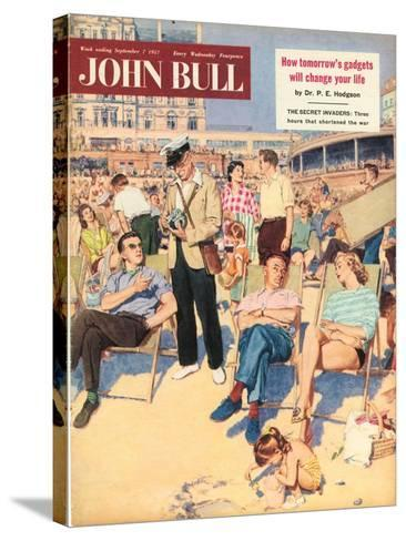 Front Cover of 'John Bull', September 1957--Stretched Canvas Print