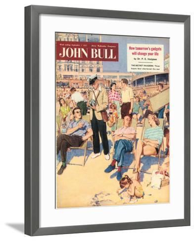 Front Cover of 'John Bull', September 1957--Framed Art Print