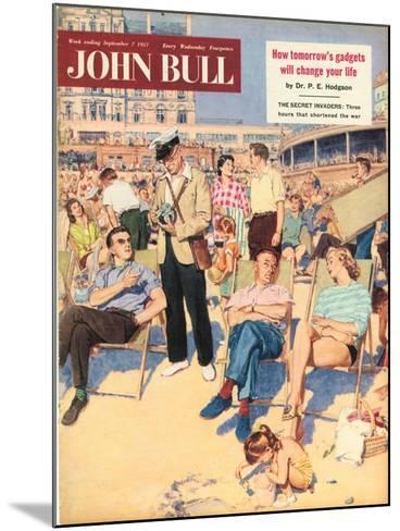 Front Cover of 'John Bull', September 1957--Mounted Giclee Print