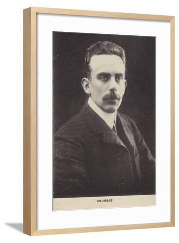 Volkmar Andreae, Swiss Conductor and Composer--Framed Art Print