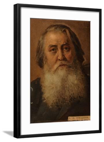 Aleksey Pleshcheyev, Russian Poet--Framed Art Print