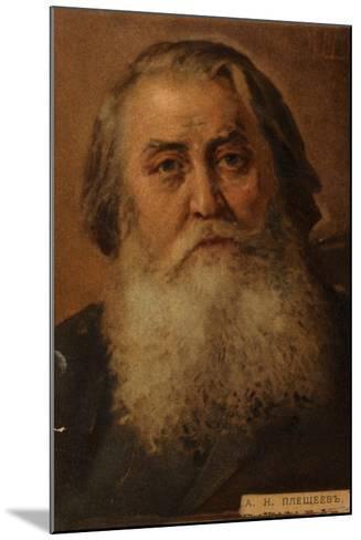 Aleksey Pleshcheyev, Russian Poet--Mounted Giclee Print
