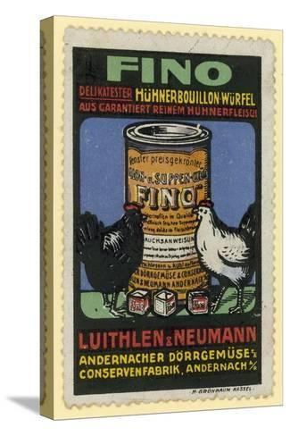 Luithlen and Neumann Fino Chicken Stock--Stretched Canvas Print