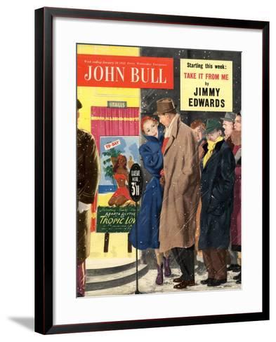 Front Cover of John Bull, January 1953--Framed Art Print