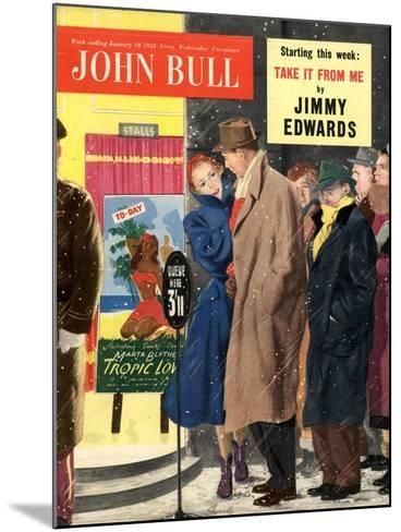 Front Cover of John Bull, January 1953--Mounted Giclee Print