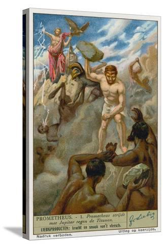 Prometheus and Zeus--Stretched Canvas Print