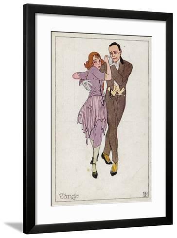 The Tango--Framed Art Print