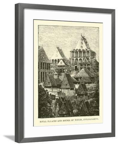Royal Palaces and Houses of Nobles, Antananarivo--Framed Art Print