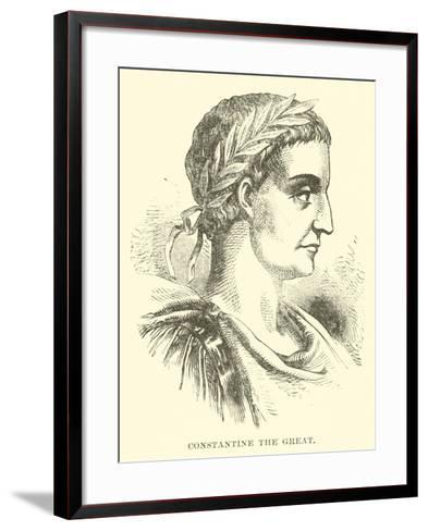 Constantine the Great--Framed Art Print