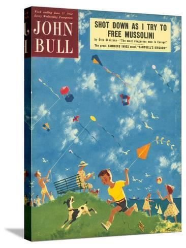 Front Cover of 'John Bull', June 1952--Stretched Canvas Print