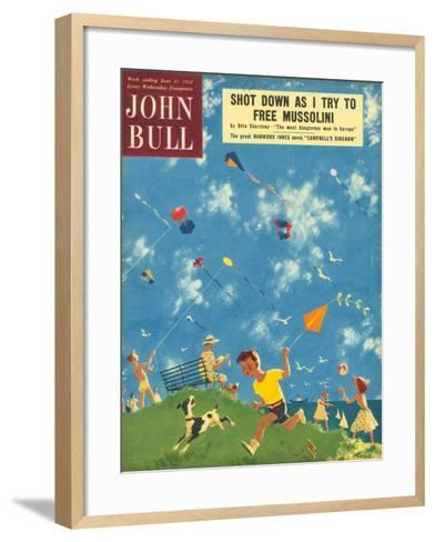 Front Cover of 'John Bull', June 1952--Framed Art Print