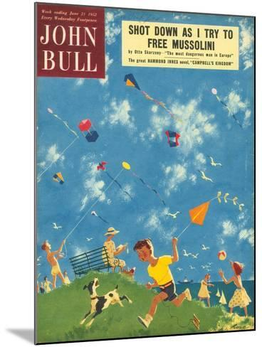 Front Cover of 'John Bull', June 1952--Mounted Giclee Print