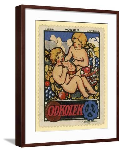 Autumn--Framed Art Print