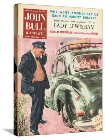 Front Cover of 'John Bull', March 1959--Stretched Canvas Print