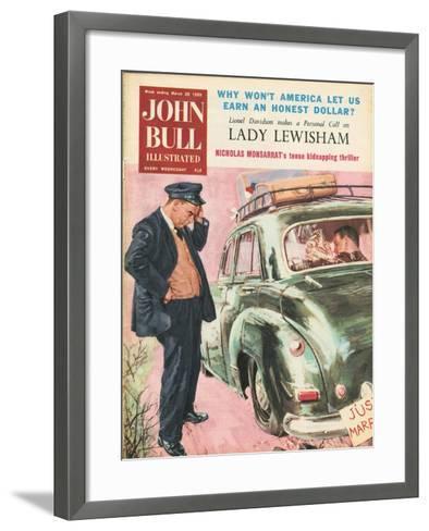 Front Cover of 'John Bull', March 1959--Framed Art Print
