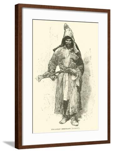 Circassian Immigrant, Turkey--Framed Art Print