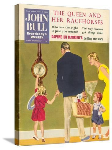 Front Cover of 'John Bull', June 1959--Stretched Canvas Print