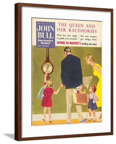 Front Cover of 'John Bull', June 1959--Framed Art Print
