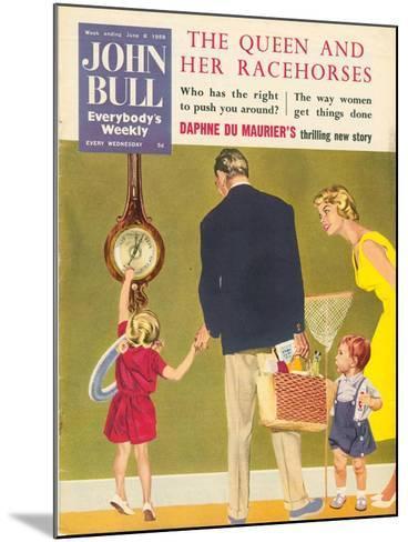Front Cover of 'John Bull', June 1959--Mounted Giclee Print