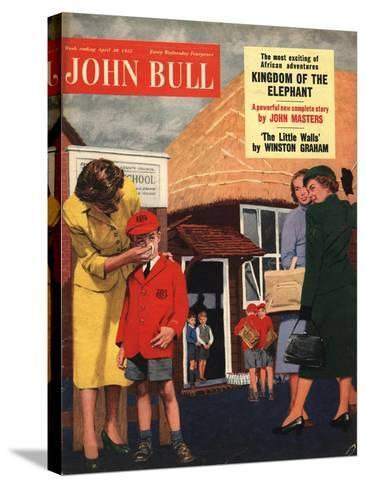 Front Cover of 'John Bull', April 1955--Stretched Canvas Print