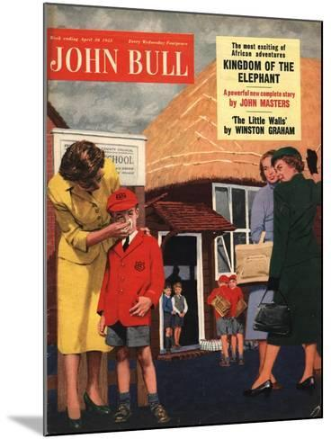 Front Cover of 'John Bull', April 1955--Mounted Giclee Print