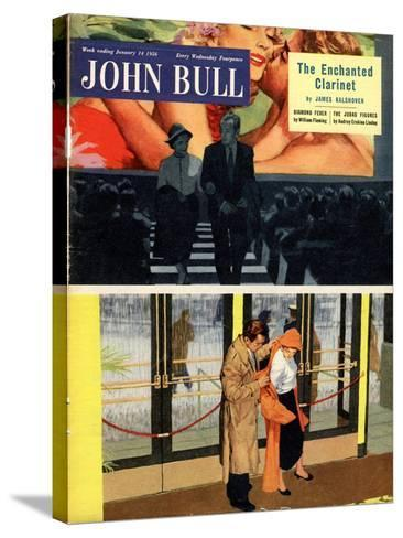 Front Cover of 'John Bull' Magazine, January 1956--Stretched Canvas Print