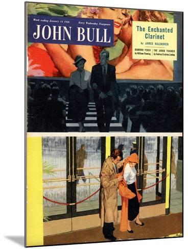 Front Cover of 'John Bull' Magazine, January 1956--Mounted Giclee Print