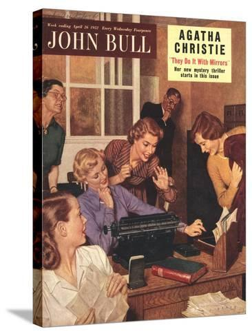 Front Cover of 'John Bull', April 1952--Stretched Canvas Print
