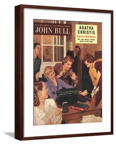 Front Cover of 'John Bull', April 1952--Framed Art Print