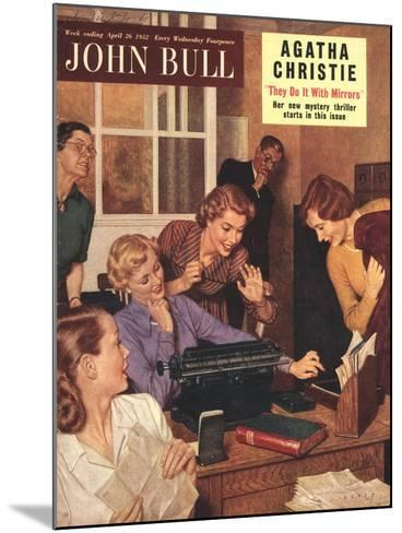 Front Cover of 'John Bull', April 1952--Mounted Giclee Print