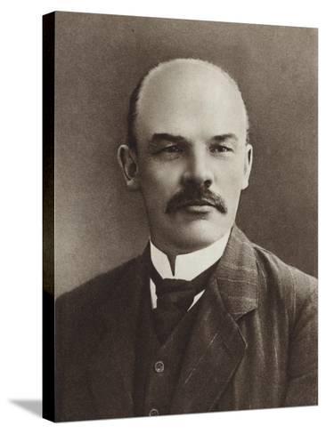 Lenin, Paris, 1910--Stretched Canvas Print