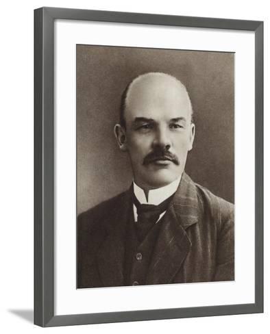 Lenin, Paris, 1910--Framed Art Print