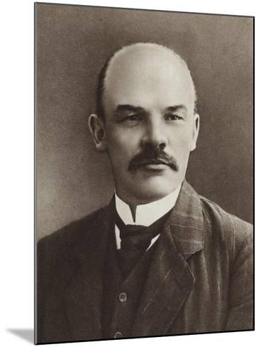 Lenin, Paris, 1910--Mounted Photographic Print