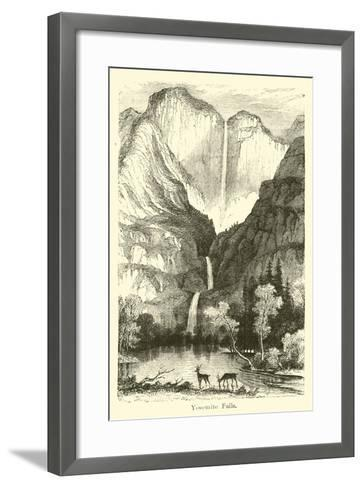 Yosemite Falls--Framed Art Print