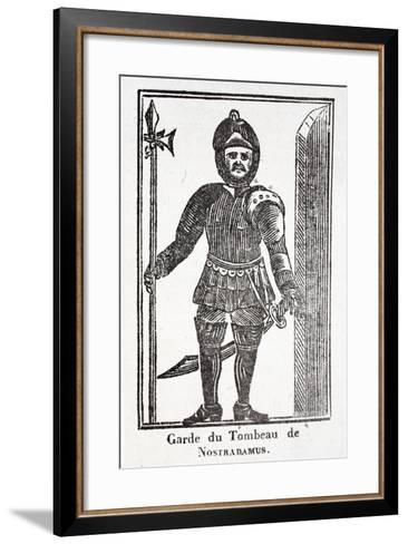 Guard at the Tomb of Nostradamus--Framed Art Print