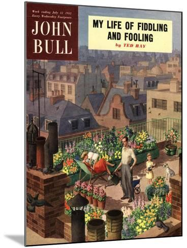 Front Cover of 'John Bull', June 1952--Mounted Giclee Print