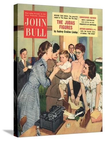 Front Cover of 'John Bull', December 1955--Stretched Canvas Print