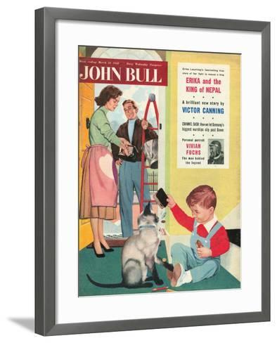 Front Cover of 'John Bull', March 1958--Framed Art Print