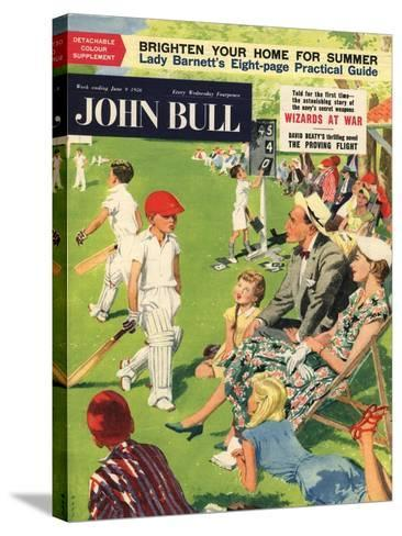 Front Cover of 'John Bull', June 1956--Stretched Canvas Print