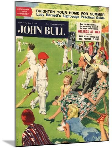 Front Cover of 'John Bull', June 1956--Mounted Giclee Print